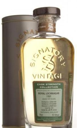 Signatory Single Malt 1990 17 Year Signatory